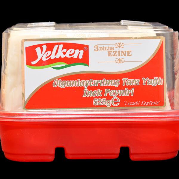 Yelken Ezine İnek Peyniri Dilimli 525gr