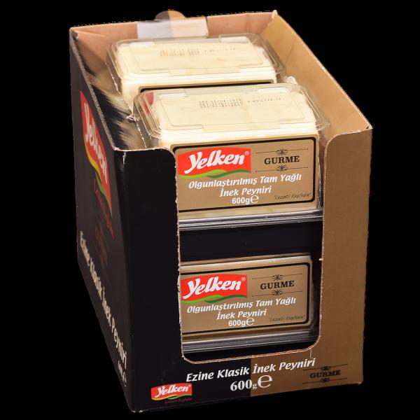 Yelken Ezine İnek Peyniri Gurme 600gr Koli