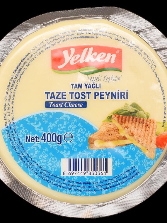 Yelken Taze Tost Peyniri 400gr